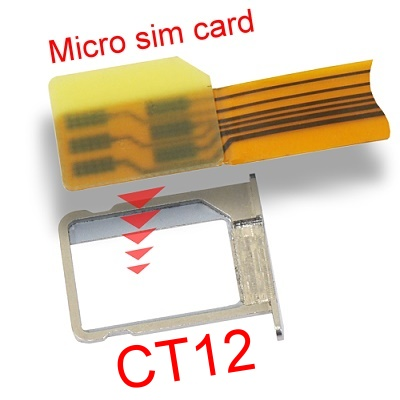 b2014b micro sim to sim card extender m factors storage. Black Bedroom Furniture Sets. Home Design Ideas