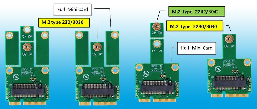 M2MP1 M.2 (NGFF... M.2 Ssd Adapter